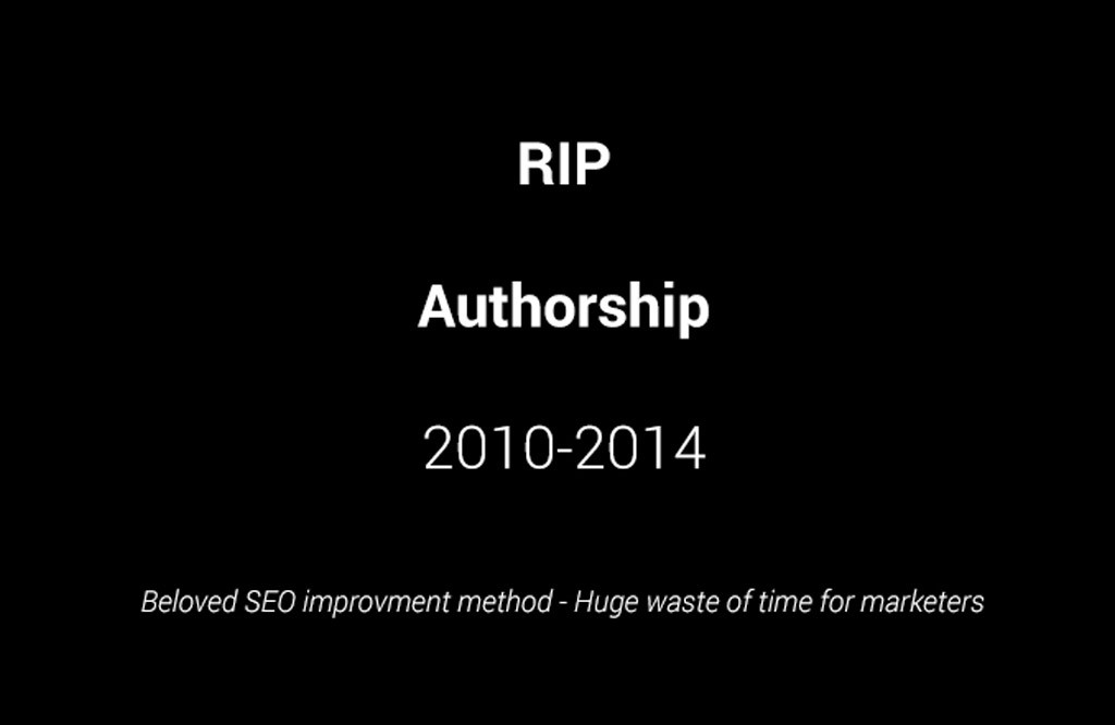 L'authorship est mort