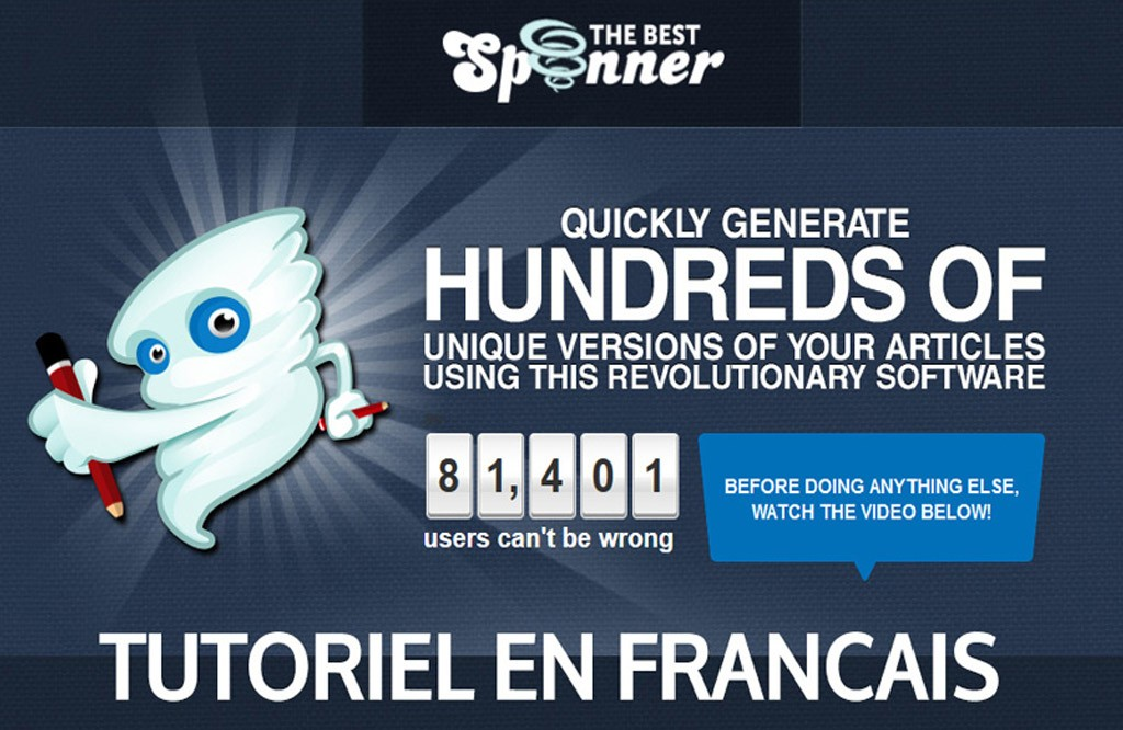 The best spinner tutoriel en français