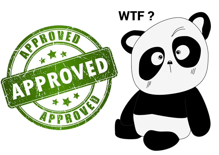 Panda approved