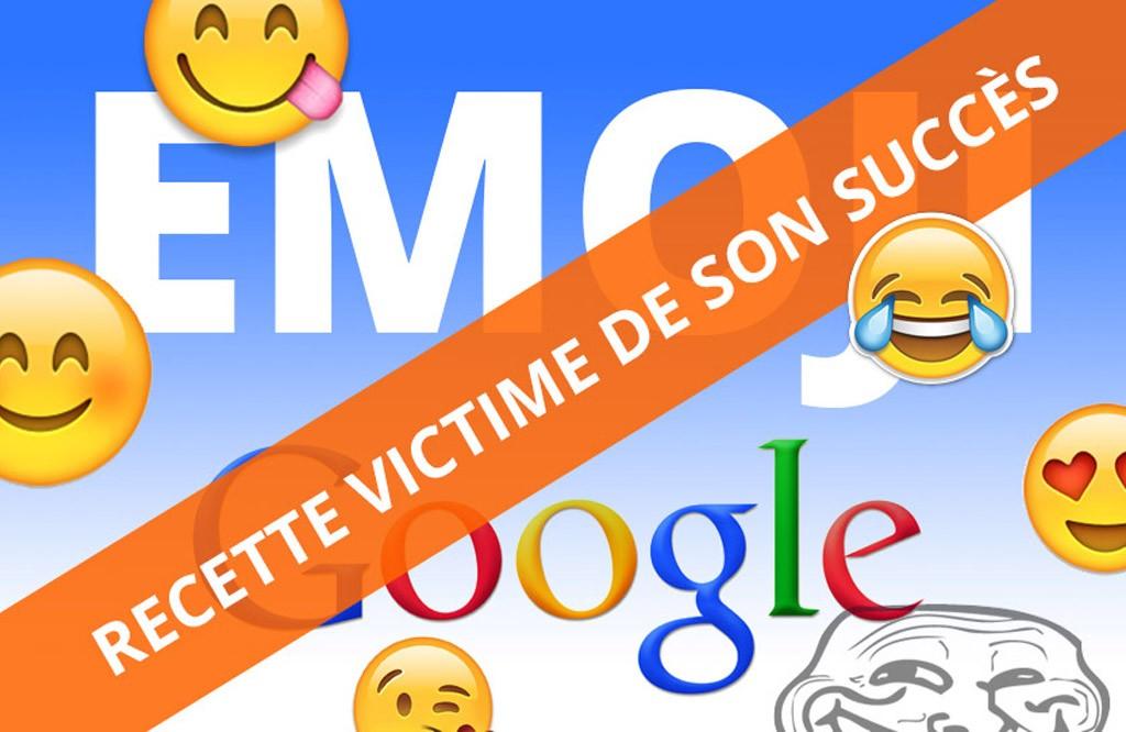 Les Emojis dans les SERP : sitot arrivé, sitôt parti !