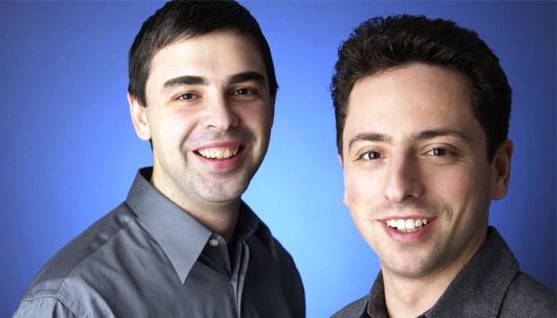 Larry Page et Sergei Brin