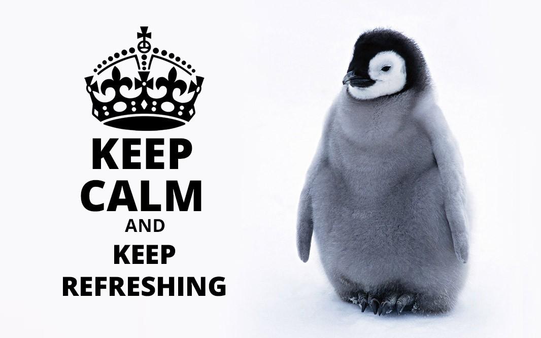 Penguin en temps réel : confirmé !