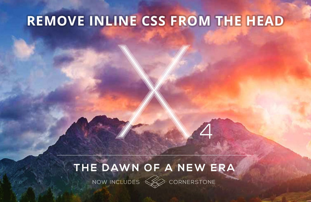 X : how to safely remove CSS from the head