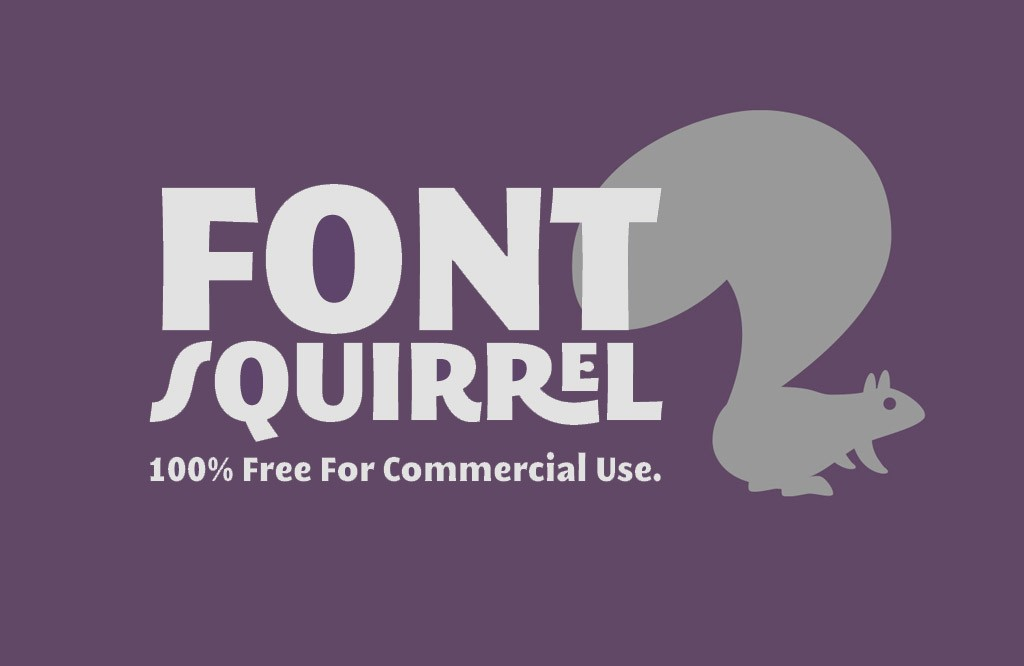 Des typos gratuites chez FontSquirrel